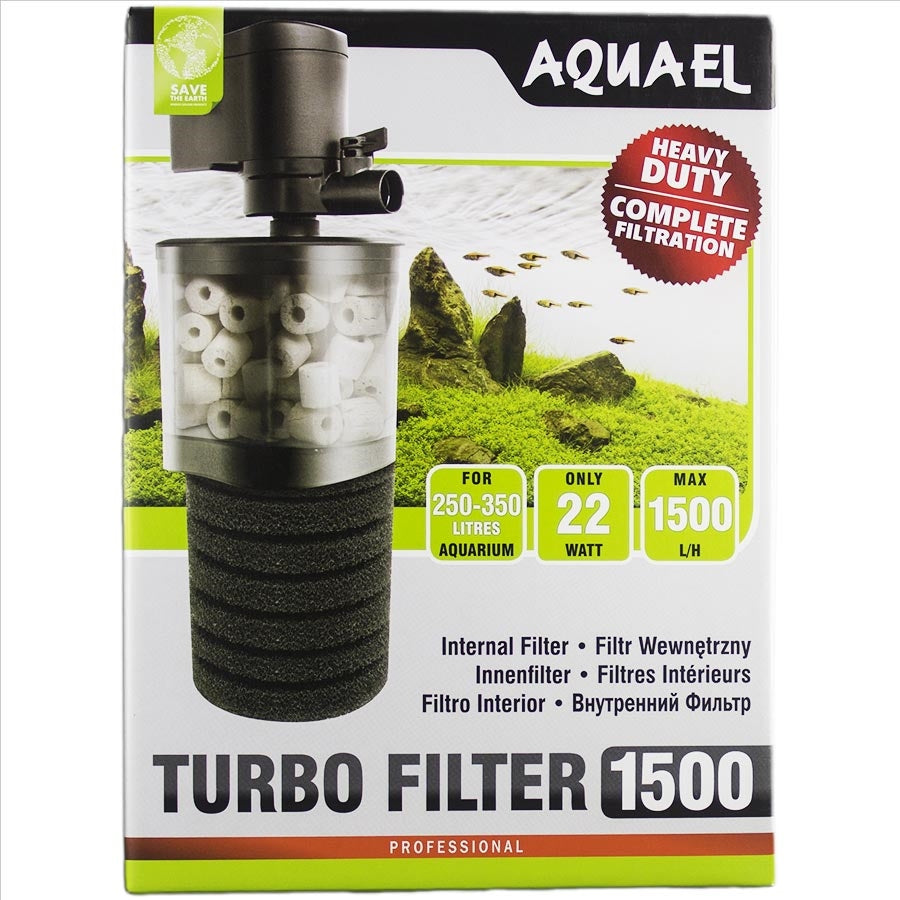 Aquael Internal Turbo Filter 1500lph