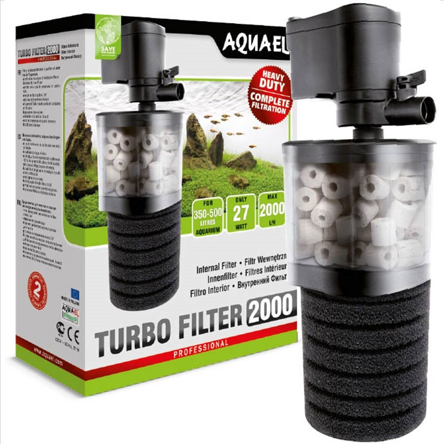 Aquael Internal Turbo Filter 2000lph