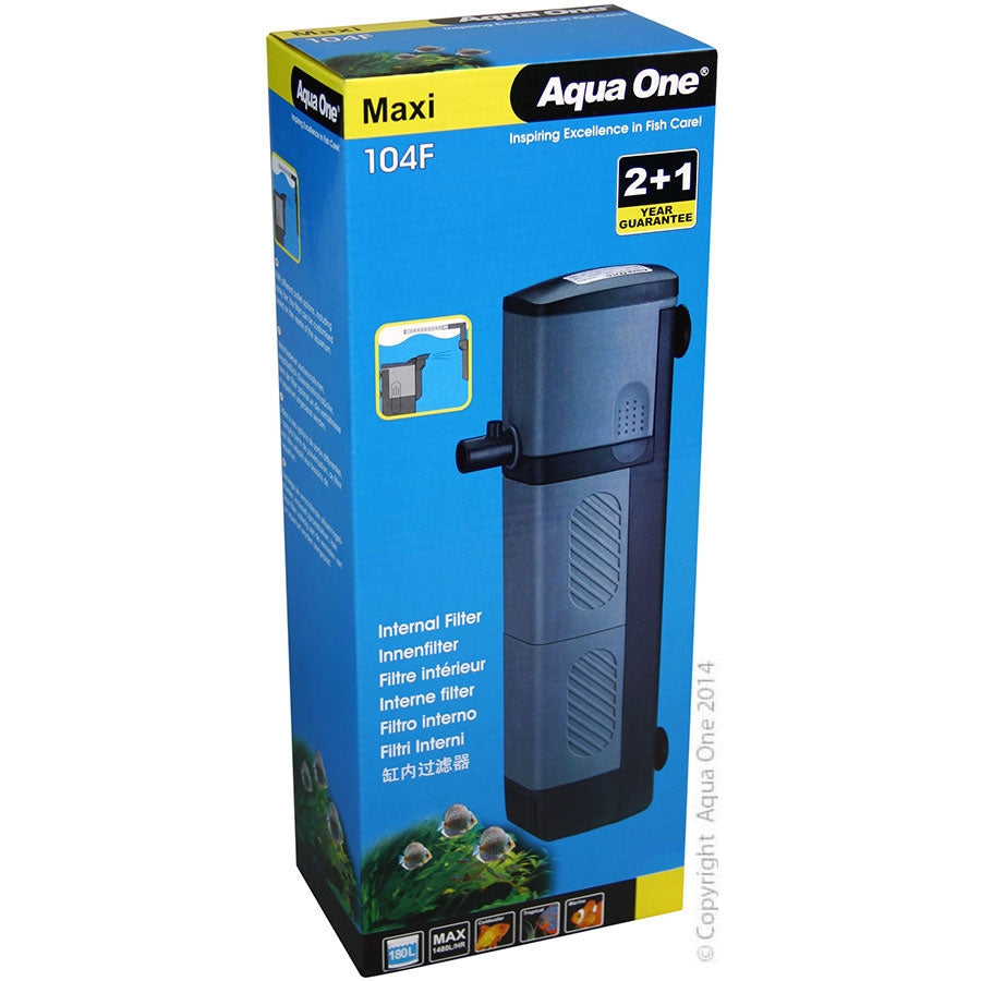 Aqua One Maxi 104F Internal Filter 1480lph