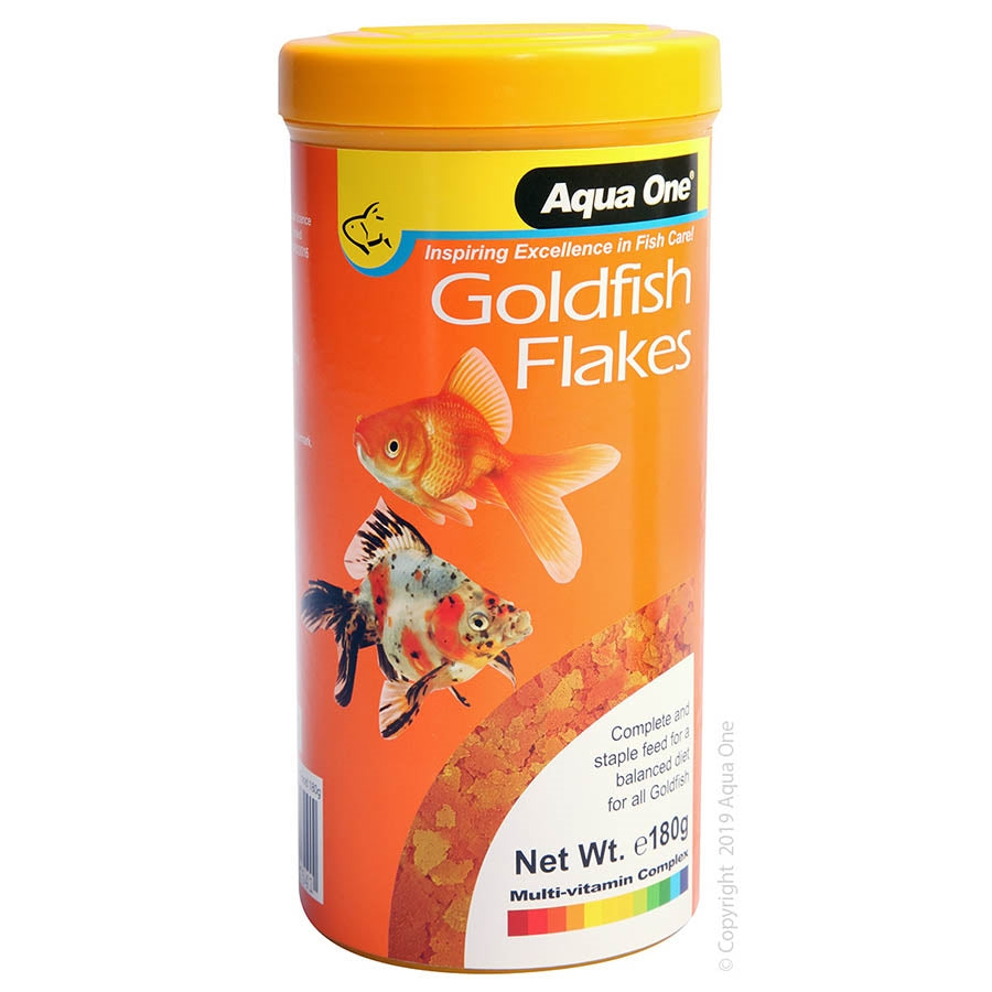Aqua One Goldfish 180g Flake Food