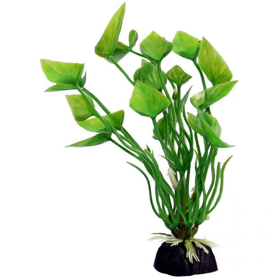 Aqua One Bettascape Betta Green Lily - 14cm - Artificial Plant