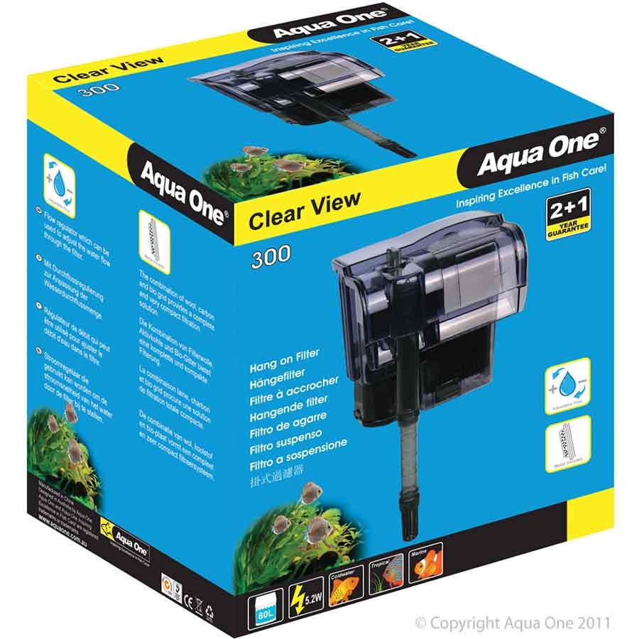 Aqua One ClearView 300 Hang On Filter