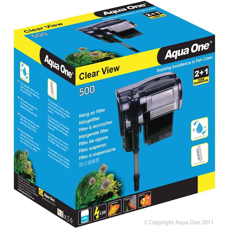 Aqua One ClearView 500 Hang On Filter