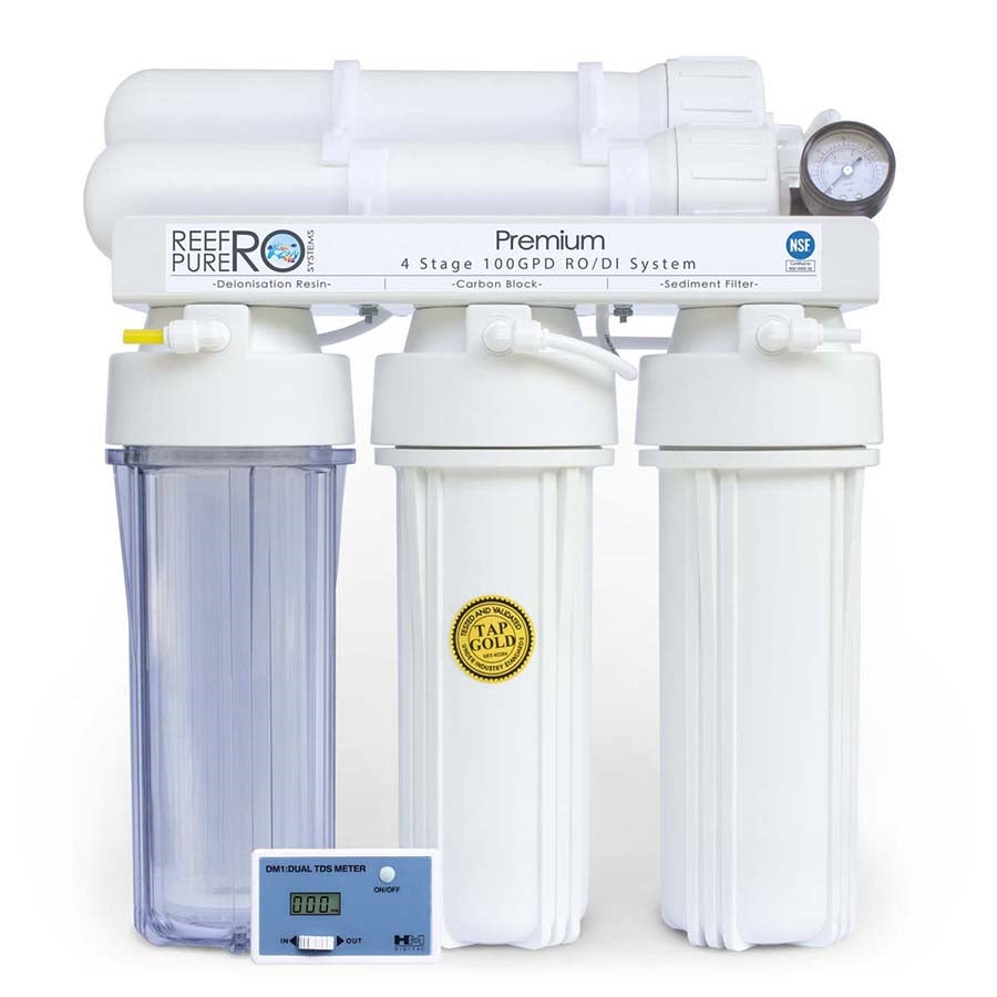 Reef Pure Ro Systems Premium 4 Stage 100GPD (378 litres per day)