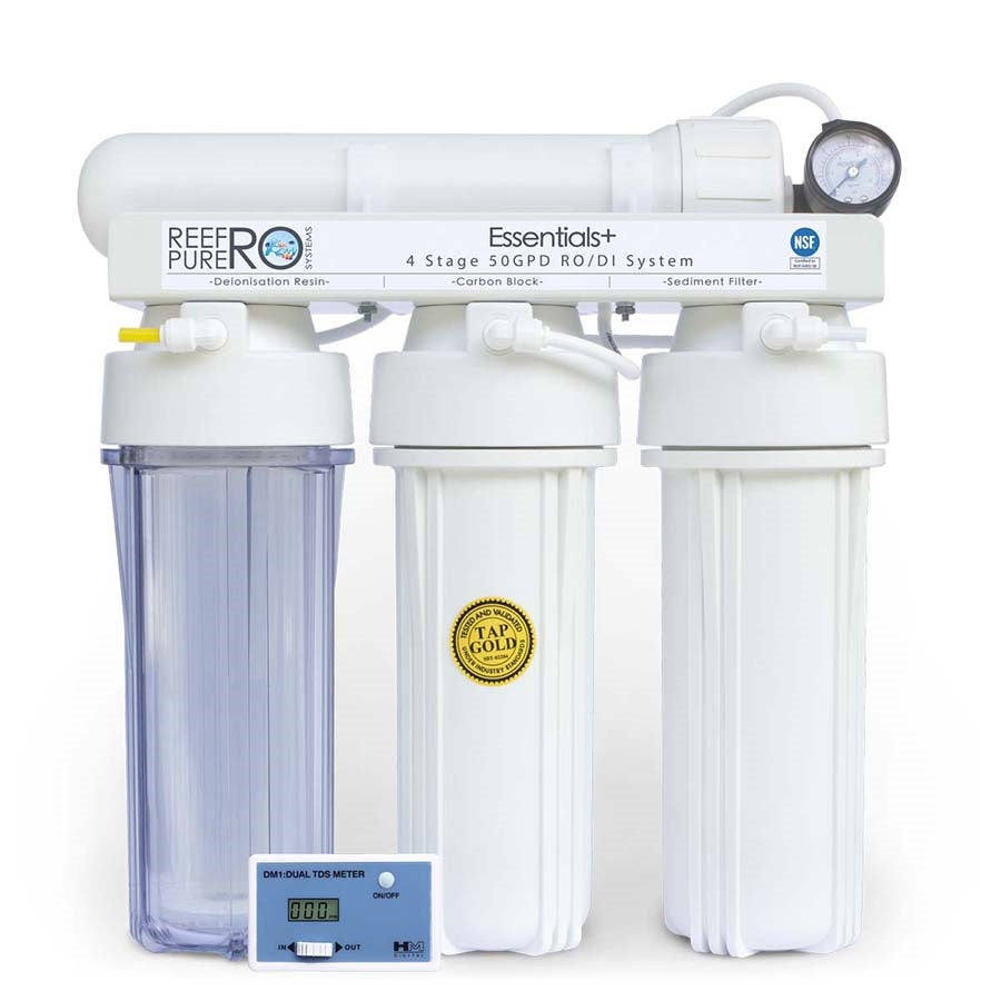 Reef Pure Ro Systems Essentials Plus 4 Stage 50GPD (189 litres per day)