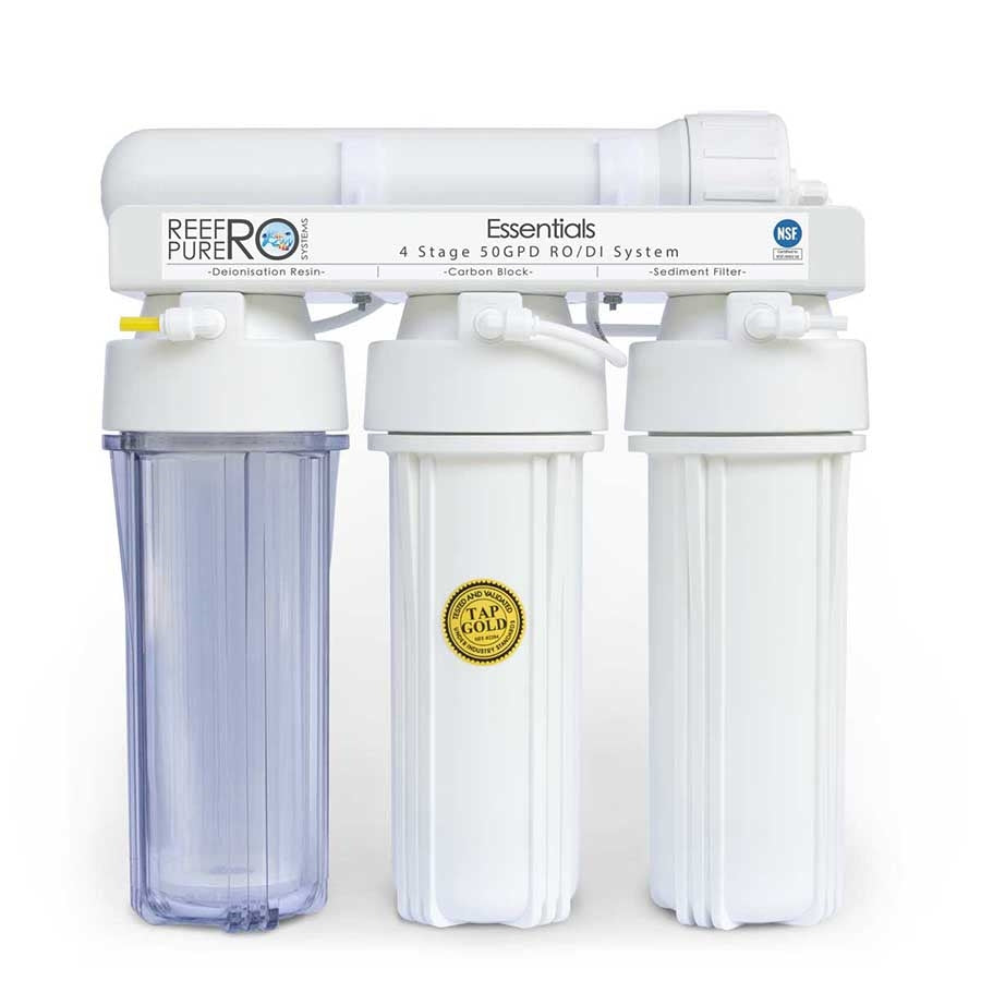 Reef Pure Ro Systems Essentials 4 Stage 50GPD (189 litres per day)