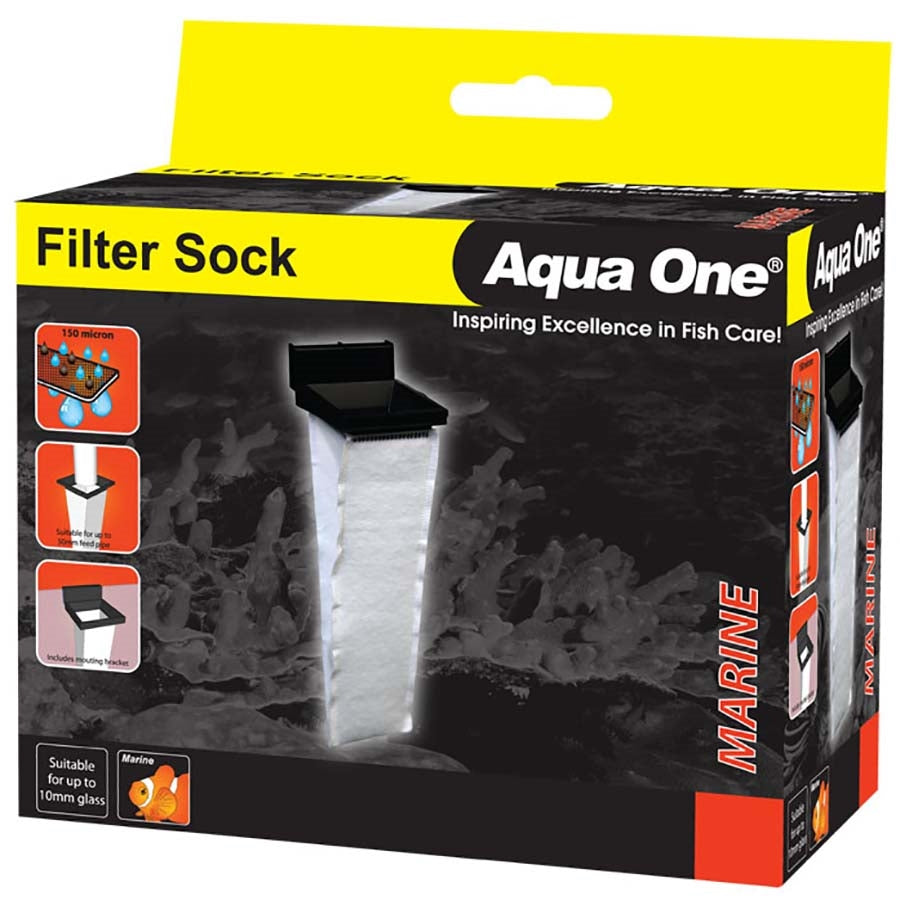 Aqua One Filter Sock For Glass Sumps up to 10mm