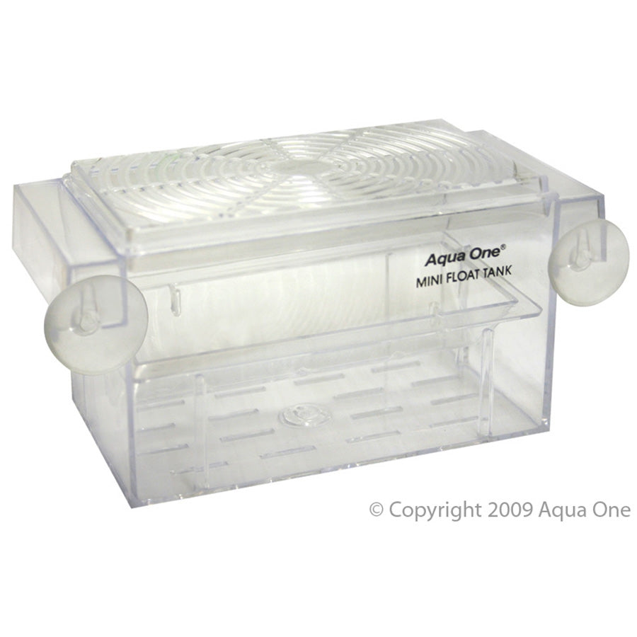 Aqua One Guppy Breeding Tank Mini Float 16 x 8 x 7.5cm