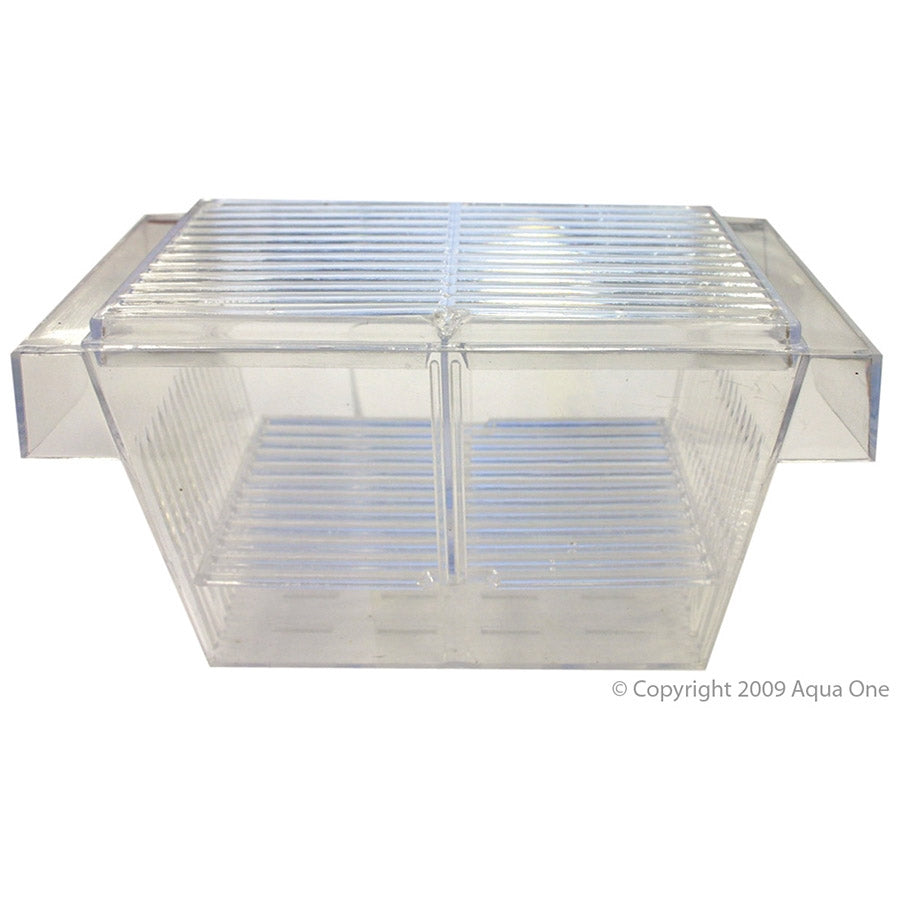 Aqua One Guppy Breeding Tank Mini Float 19.5 x 10.5 x 10.5cm