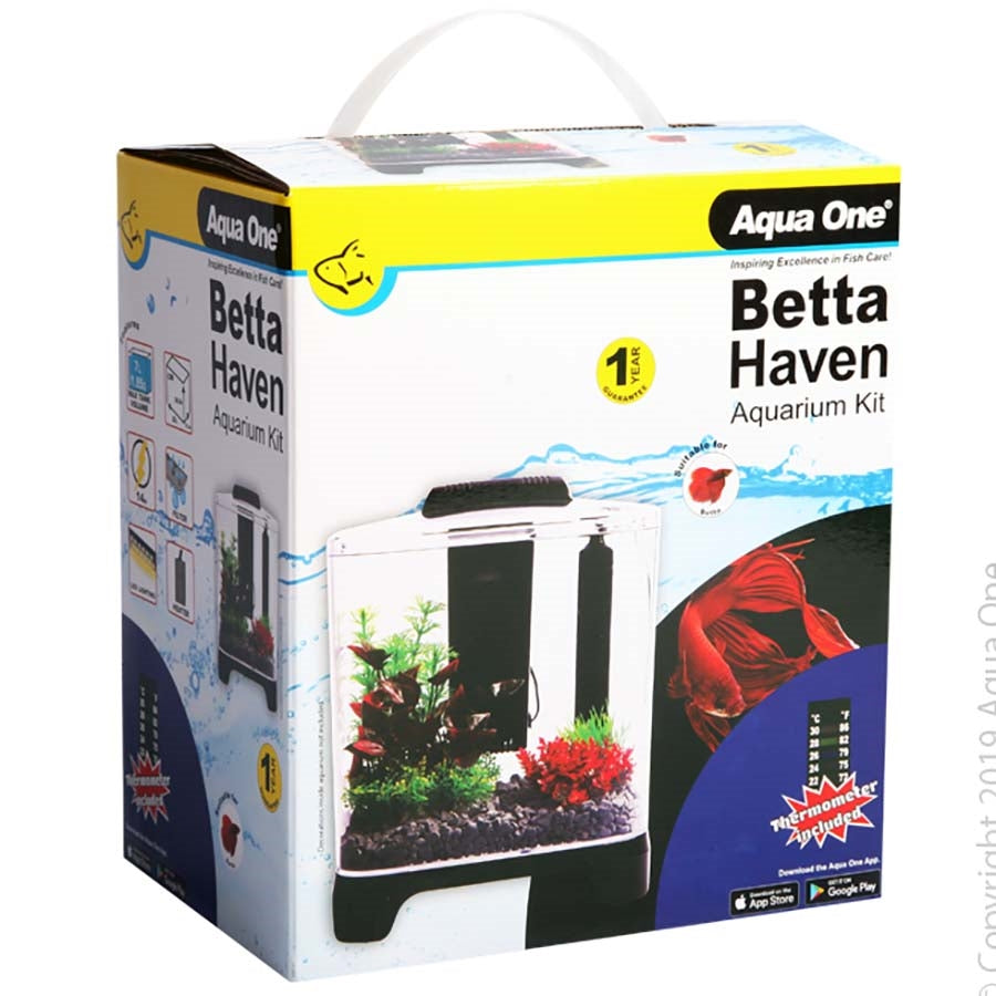 Aqua One Betta Haven Acrylic Aquarium - 7l