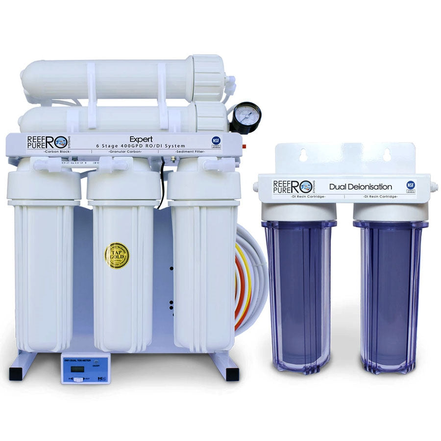 Reef Pure  Ro Systems Expert 6 Stage 400GPD (1500 litres per day)