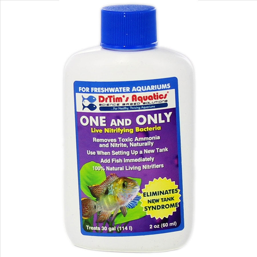 Dr Tims One and Only H2O-PURE 60ml Treats 114 litre Aquarium