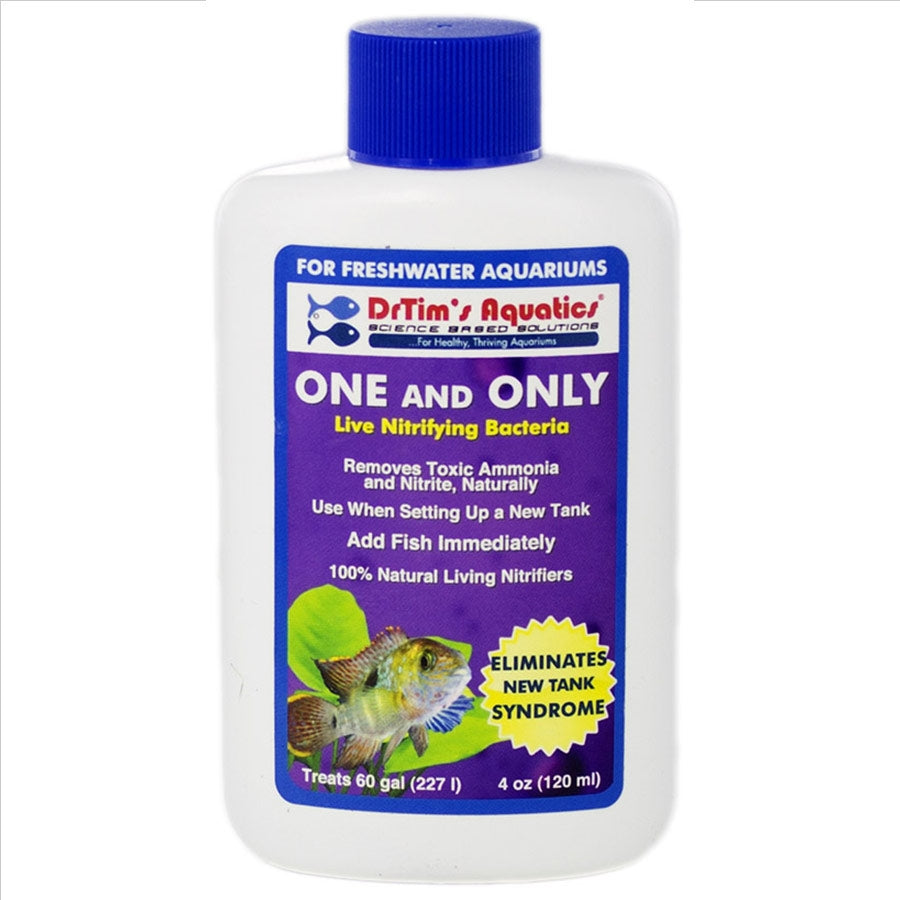 Dr Tims One and Only H2O-PURE 120ml Treats 227 litre Aquarium