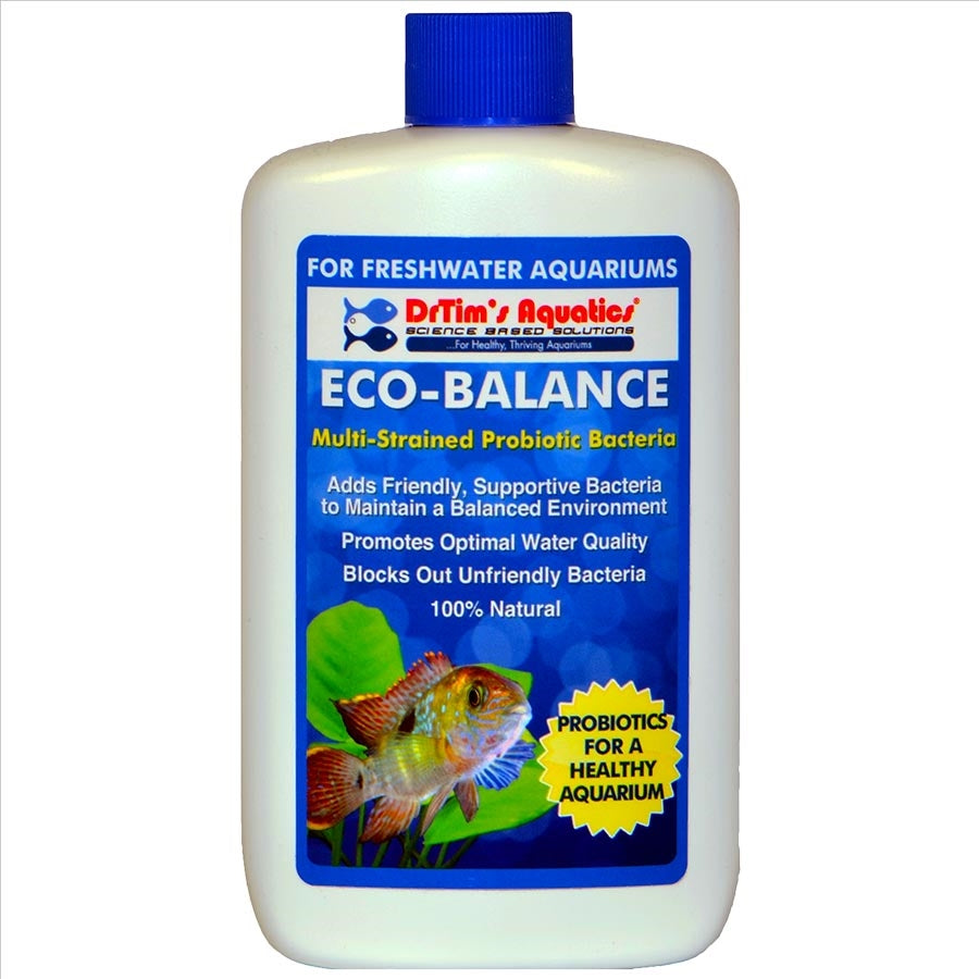 Dr Tims Eco Balance H2O-PURE 475ml Treats 1,817 litre Freshwater Aquarium