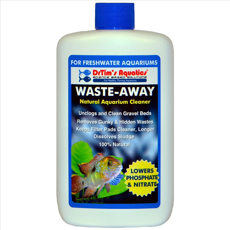 Dr Tims Waste Away H2O-PURE 475ml Treats 1616 litre Freshwater Aquarium