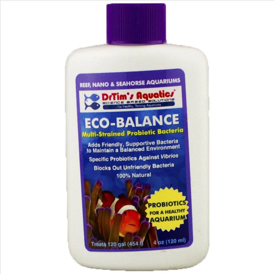 Dr Tims Eco Reef Balance 120ml Probiotics for Core System Health treats 454l