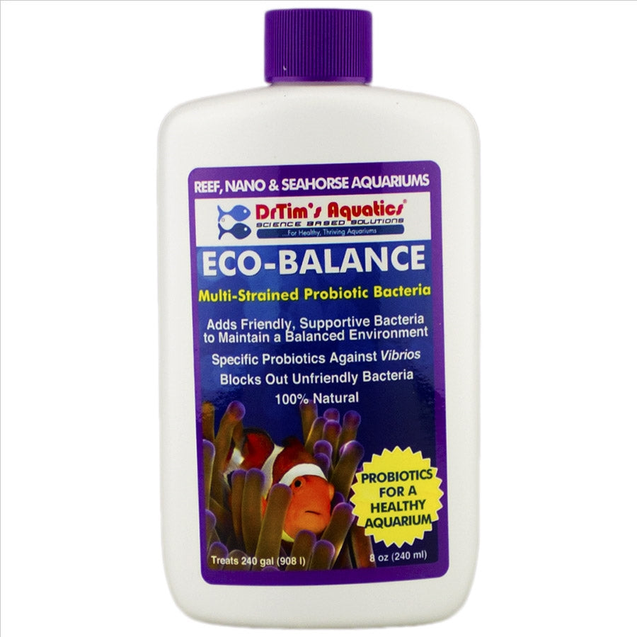 Dr Tims Eco Reef Balance 240ml Probiotics for Core System Health treats 980l