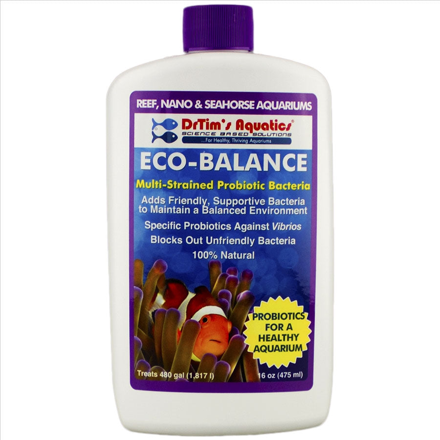 Dr Tims Eco Reef Balance 475ml Probiotics for Core System Health treats 1817l