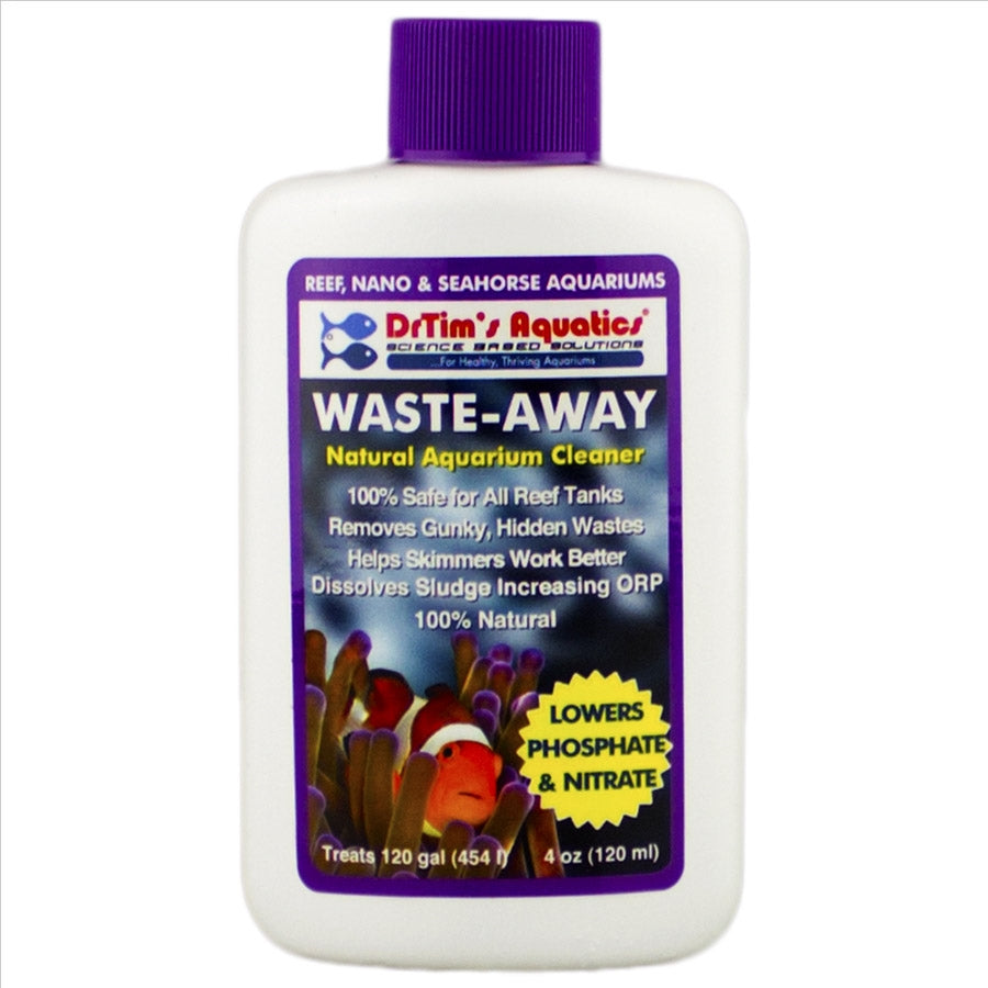 Dr Tims Reef Waste Away 120ml Lowers Phosphate and Nitrate Treats 454l