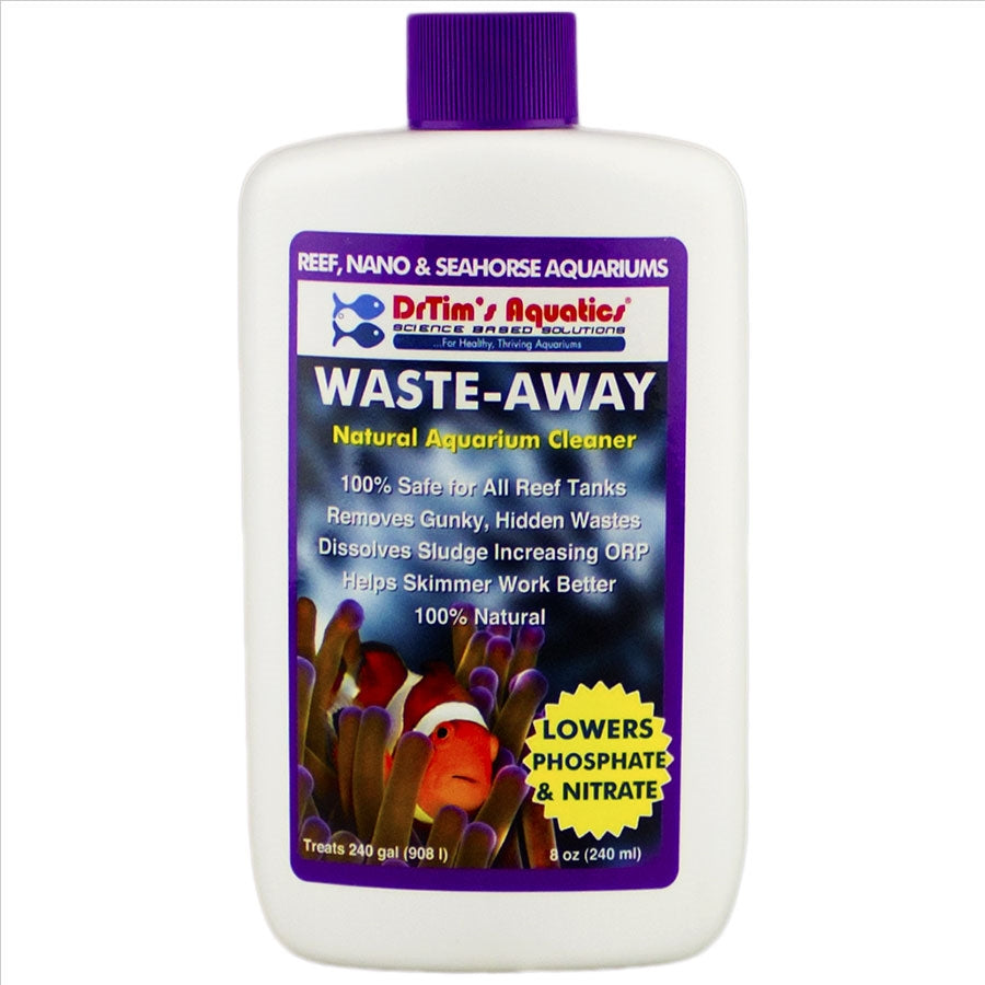 Dr Tims Reef Waste Away 240ml Lowers Phosphate and Nitrate Treats 908l