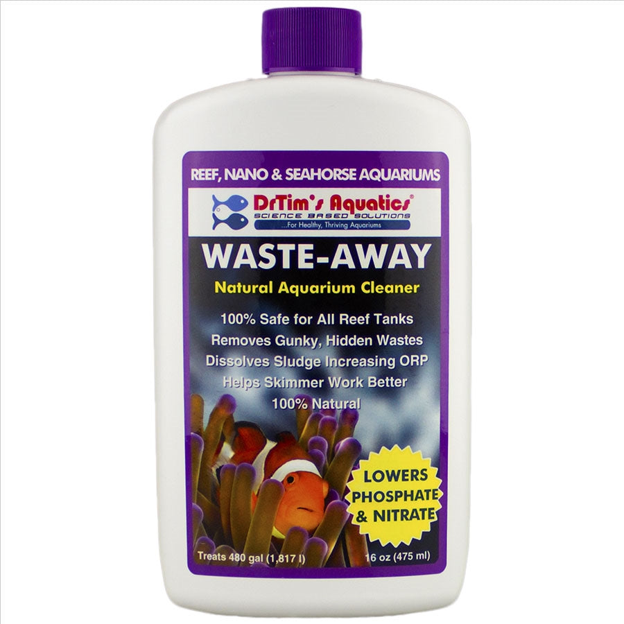 Dr Tims Reef Waste Away 475ml Lowers Phosphate and Nitrate Treats 1817l
