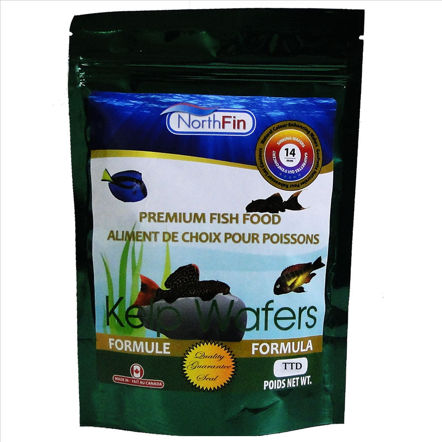 NorthFin Kelp Wafer 1kg - 14mm - Sinking Algae Wafer