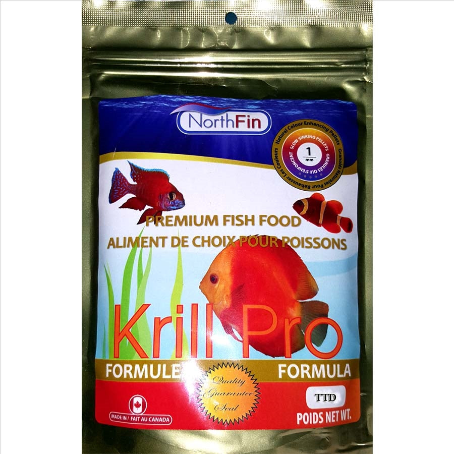 NorthFin Krill Gold Formula 250g - 1mm - Slow Sinking