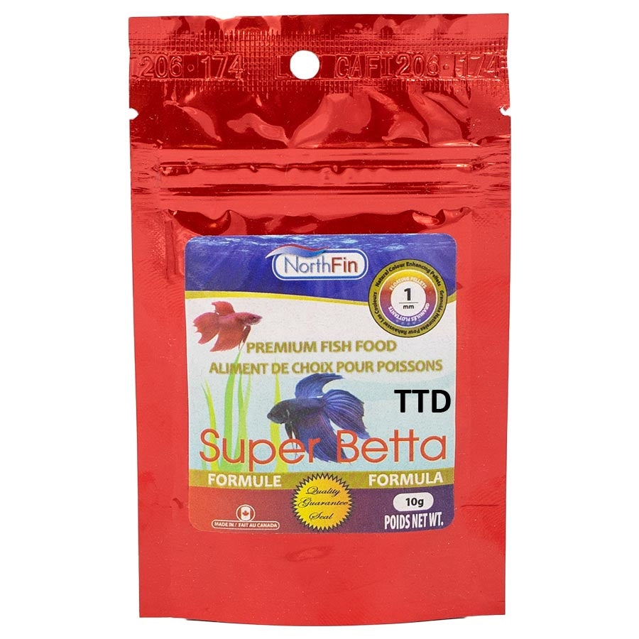 NorthFin Betta Bits Formula 10g - 1mm - Slow Sinking