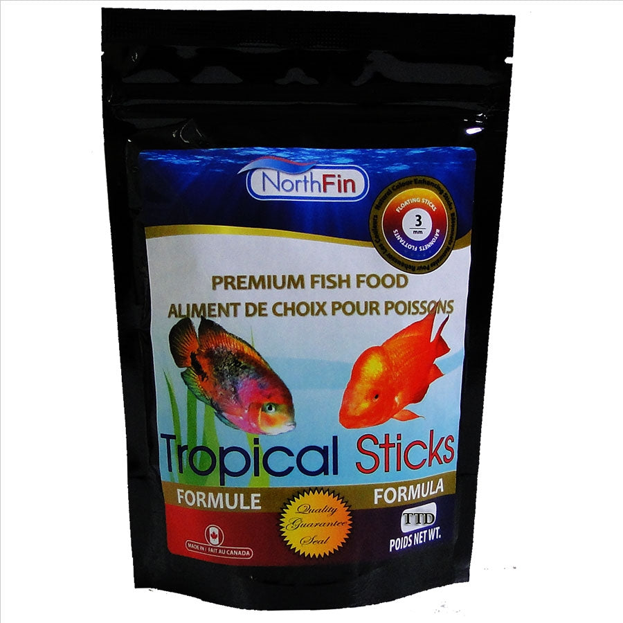 NorthFin Tropical Sticks Formula 250g - 3mm - Floating