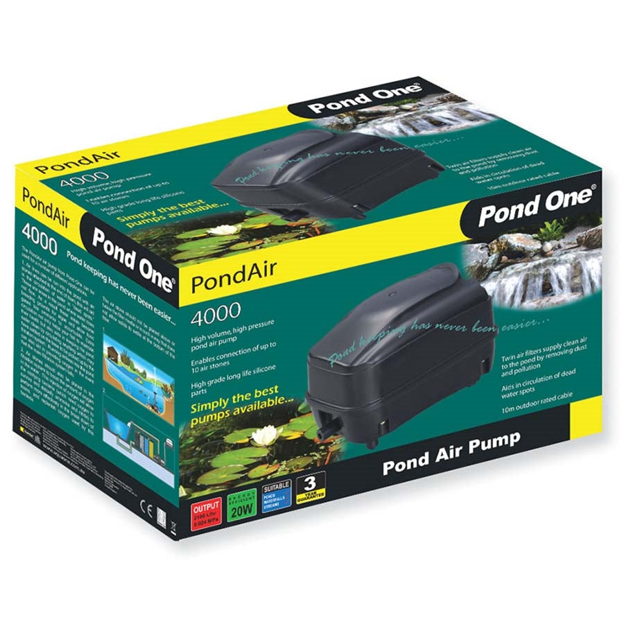 Pond One O2plus 4000 Air Machine High Output Air Pump