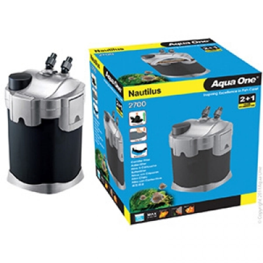 Aqua One Nautilus 2700UV Canister Filter 2700lph