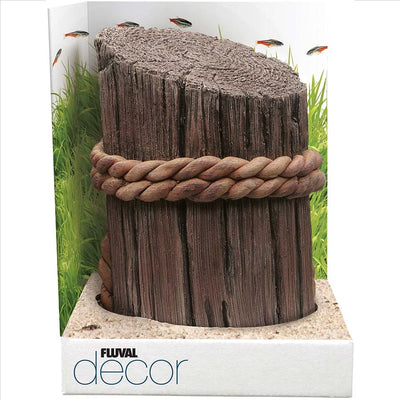 Fluval Decore Ornament - Pier Post Ornament - Large