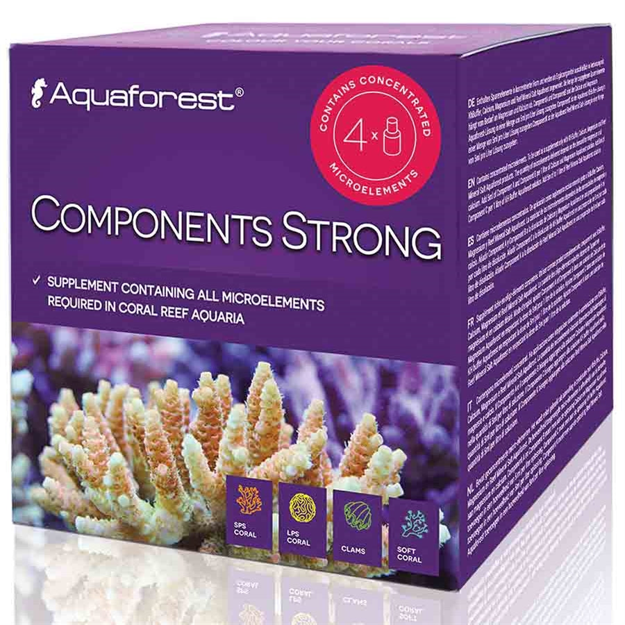Aquaforest Components Strong ABCK 4 x 75 ml Liquid additive.