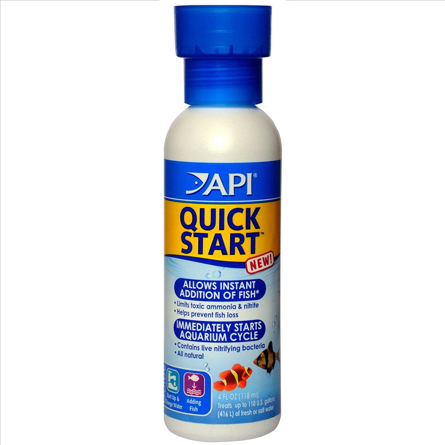 API Quick Start 118ml for a new tank Quickstart Cycle