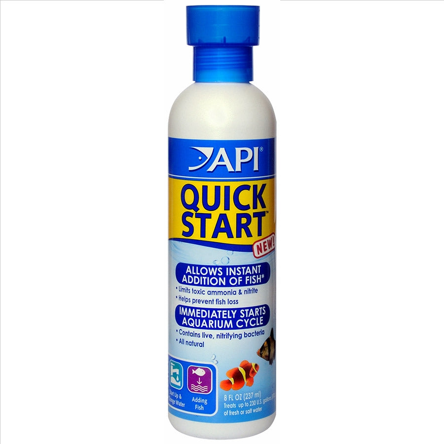 API Quick Start 237ml for a new tank Quickstart Cycle