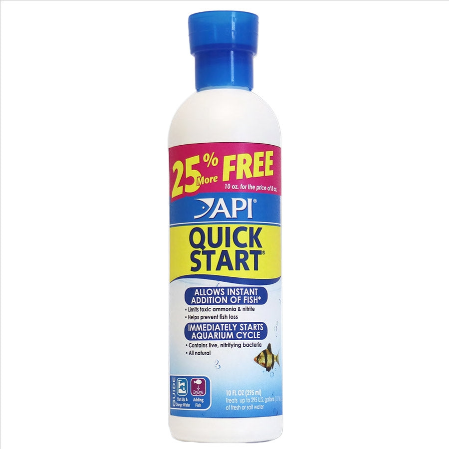 API Quick Start 237ml + 25% More Free (295ml) for a new tank Quickstart Cycle