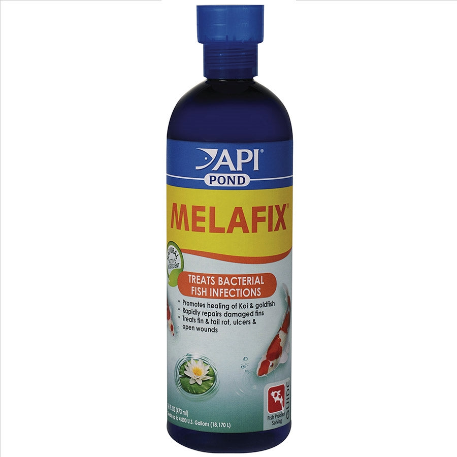 Pondcare Melafix 473ml Antibacterial for ulcers, eye cloud, fungus, fin rot