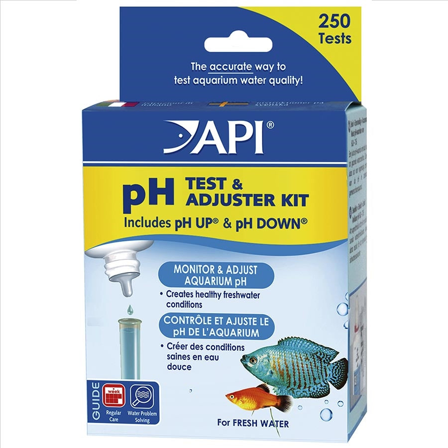 API Ph Test Kit and Adjusters