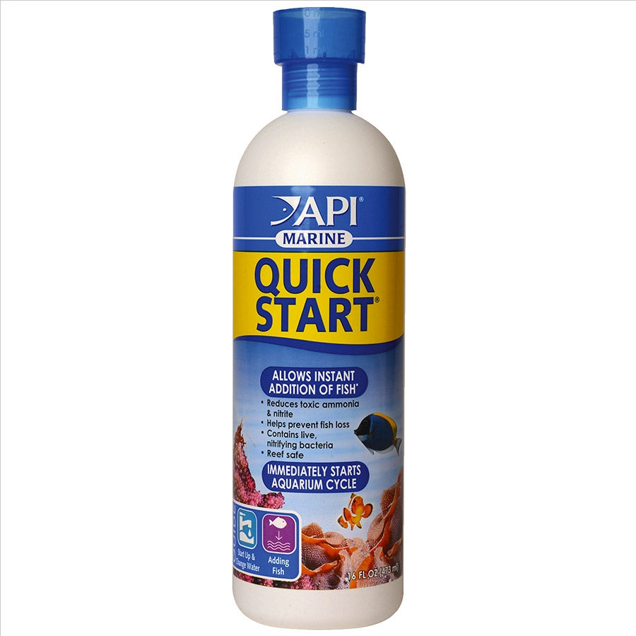 API Marine Quick Start 473ml for a new Saltwater tank Quickstart Cycle