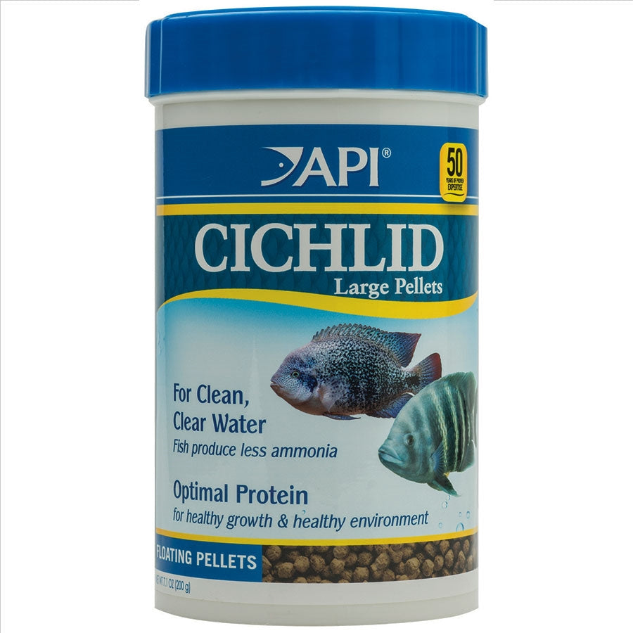 API Cichlid Large Pellet 200g Floating