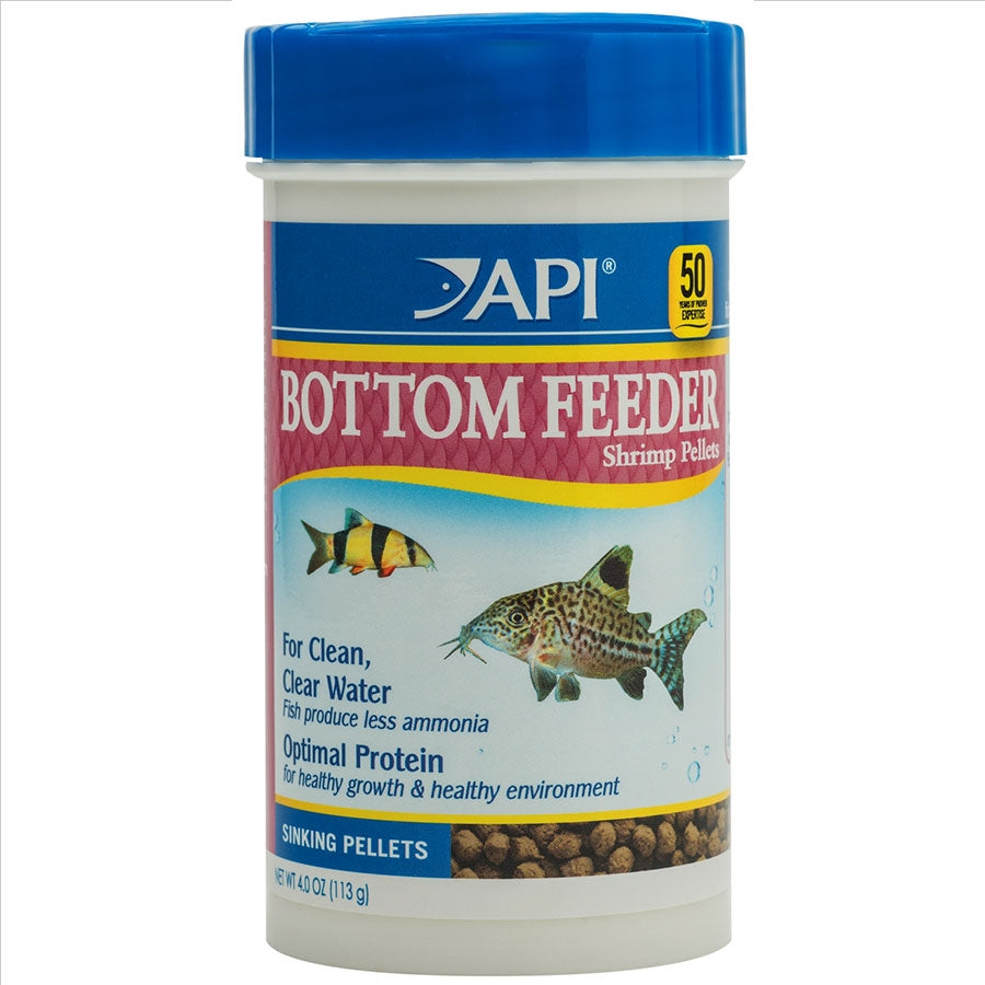 API Bottom Feeder Shrimp Pellet 113g Sinking