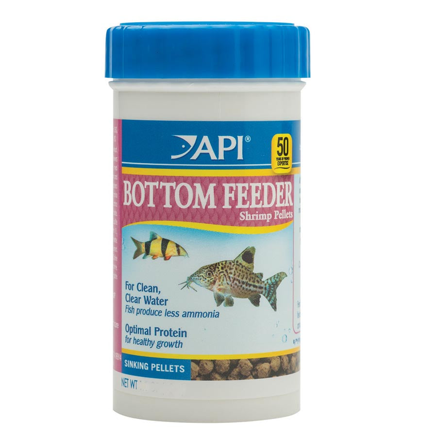 API Bottom Feeder Shrimp Pellet 43g Sinking