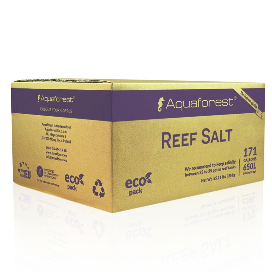 Aquaforest Reef Salt 25kg Box - in store pick up