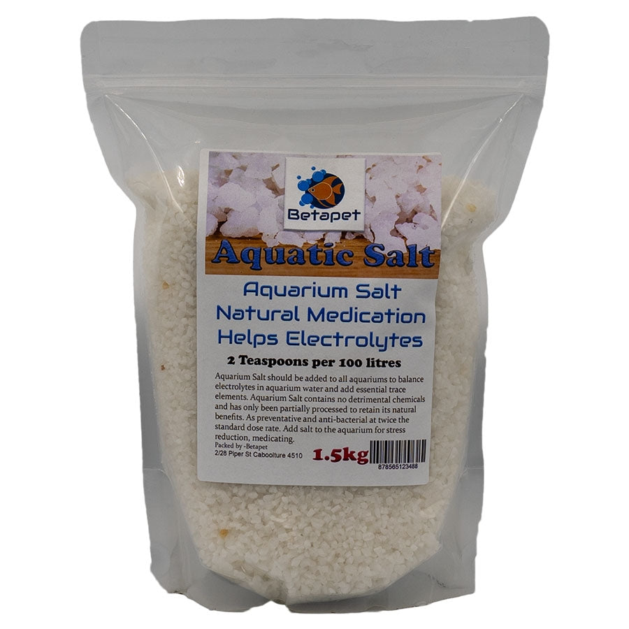 Betapet Aquarium Salt in 1.5kg bag - Australian