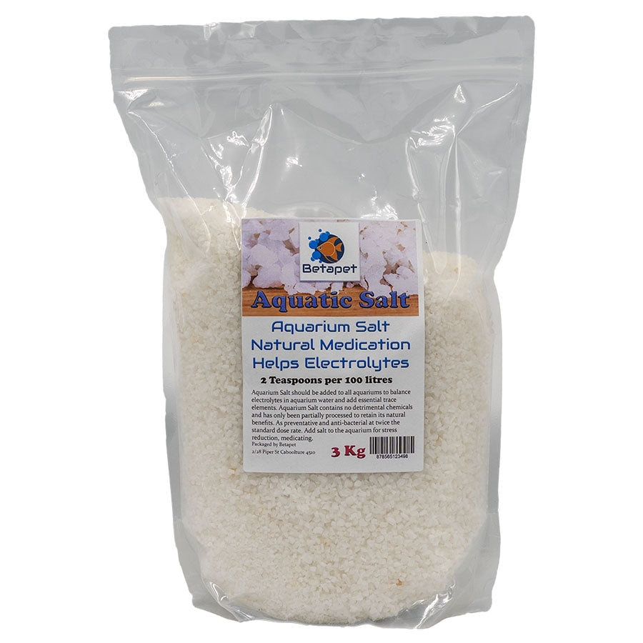 Betapet Aquarium Salt in 3kg bag - Australian