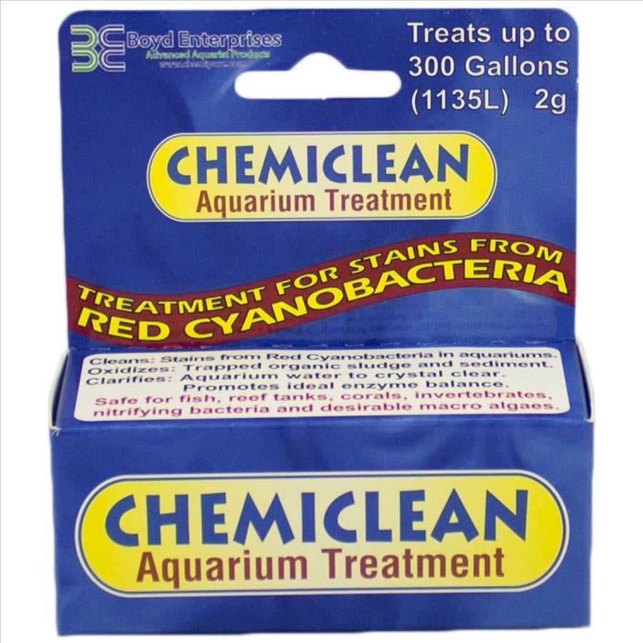Chemiclean Red Slime Cyano Bacteria Remover 2g treats 1135 litres
