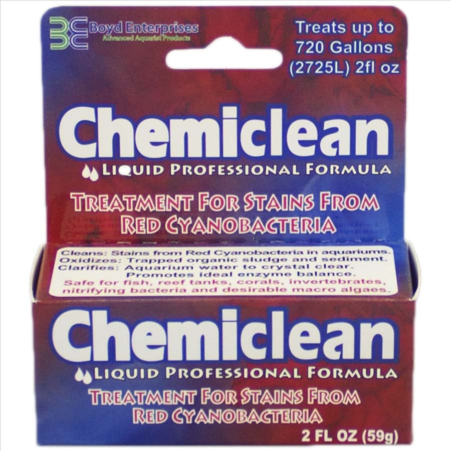Chemiclean Red Slime Cyano Bacteria Remover 59g Treats 2725 Litres