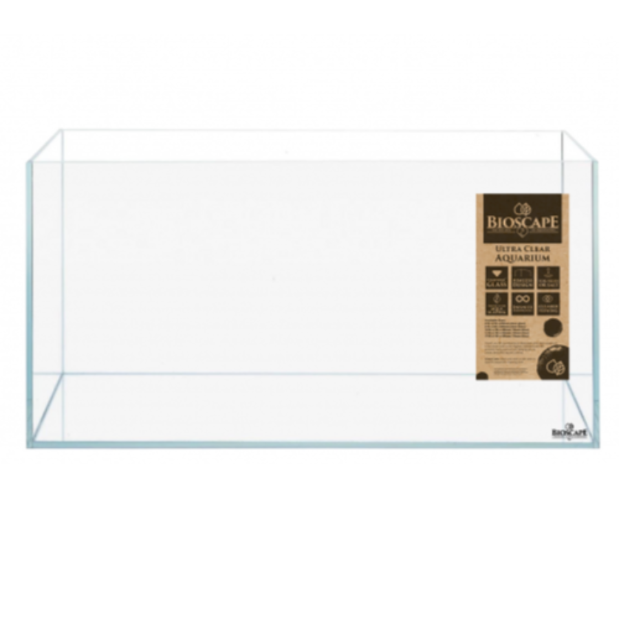 Bioscape 50cm Ultra Clear Glass Aquarium Tank - 50x27x32 -In Store Pick Up