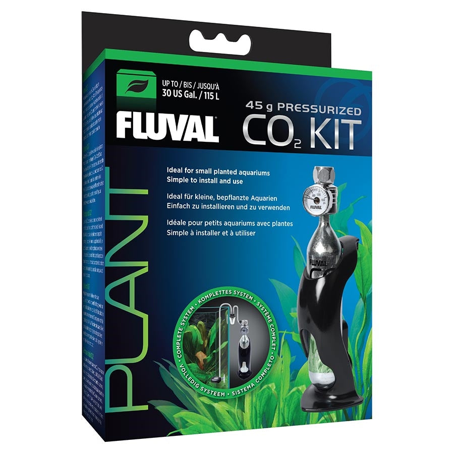 Fluval 45g Pressurised CO2 Kit - In store pick up only