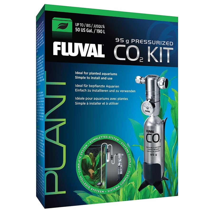 Fluval 95g Pressurised CO2 Kit - In store pick up only